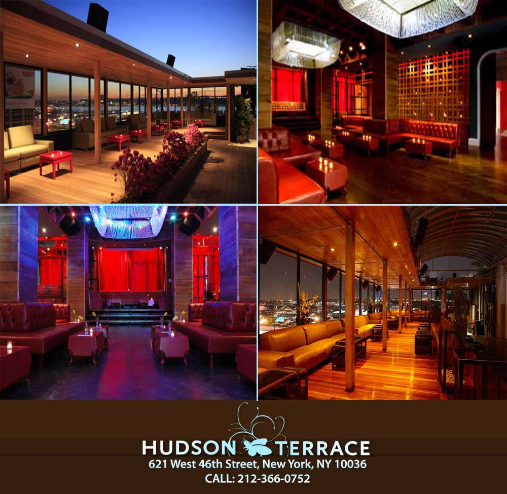 Hudson terrace nyc fridays ladies free tickets new york for Terrace on the hudson